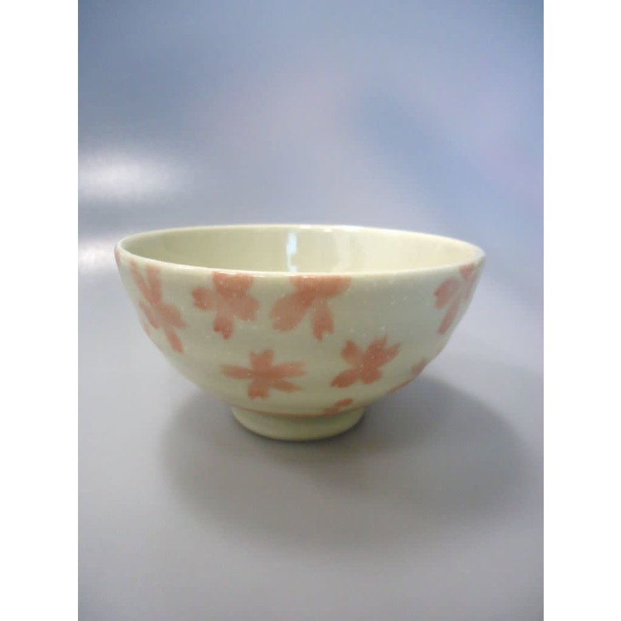 Coarse textured cherry blossom rice bowl PK-1