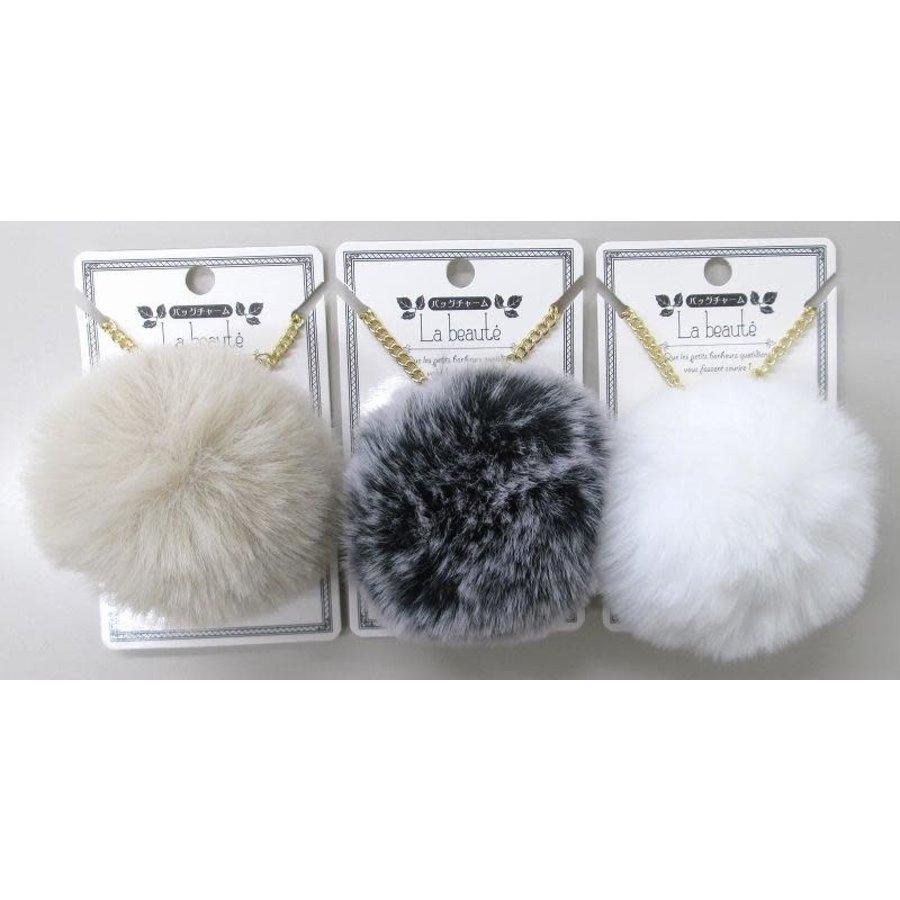 Fake fur bag charm A 19-1