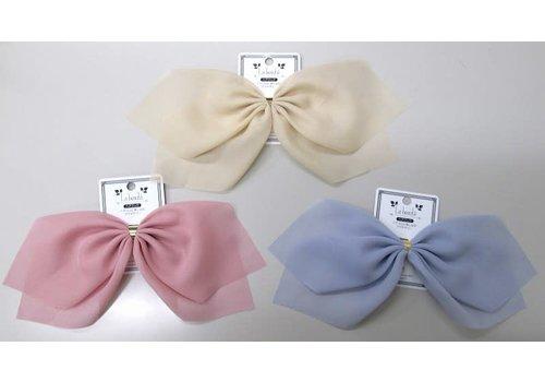 Soft color ribbon hair hook