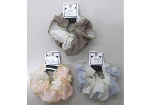 Soft W color scrunchie