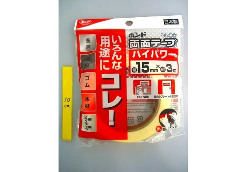 ?Konishi double side tape high power 15mm x 3m