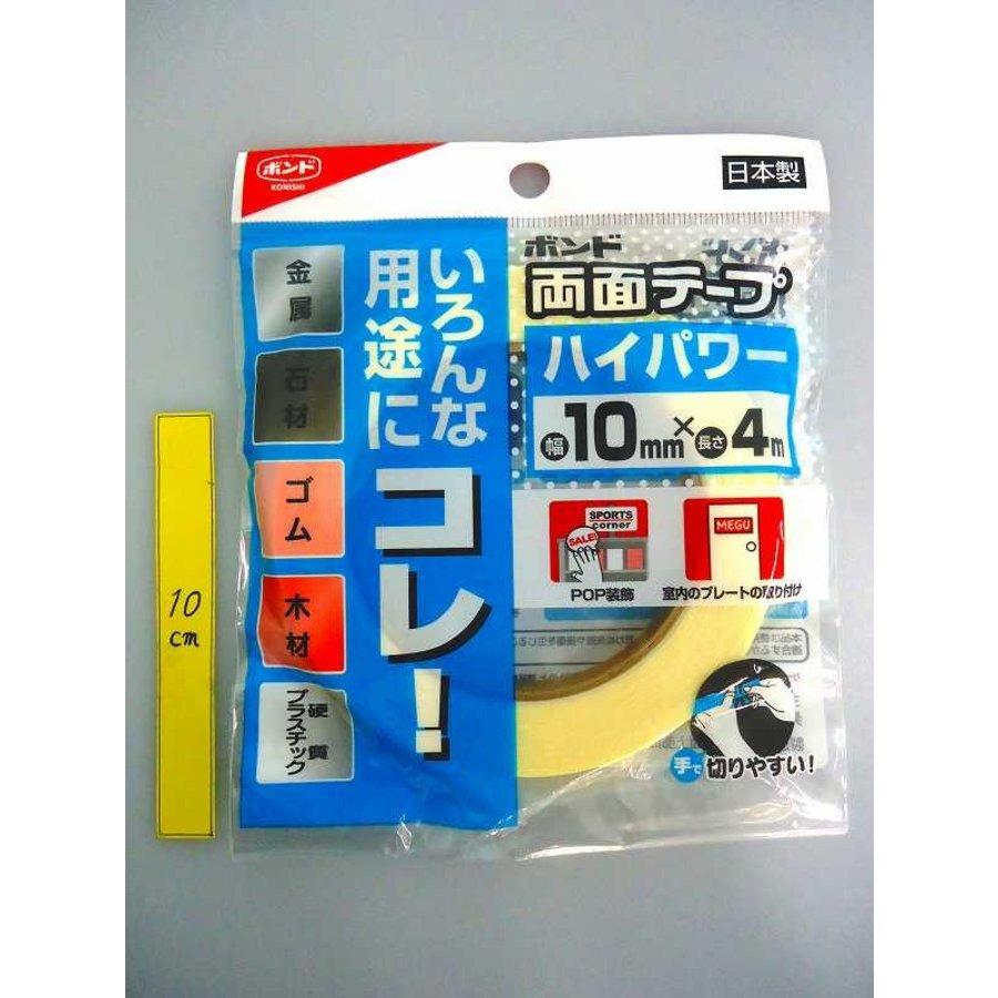 Konishi double side tape high power 10mm x 4m-1