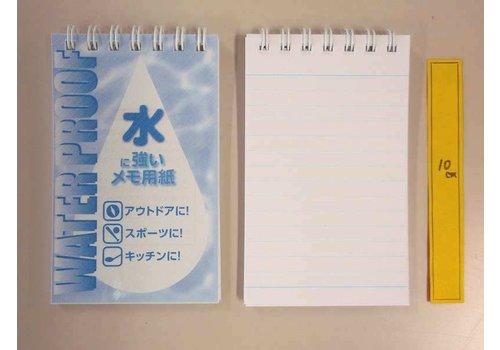 Water proof memo pad semi-A7 40s