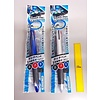 3 colors ballpoint pen with touch pen 0.7mm