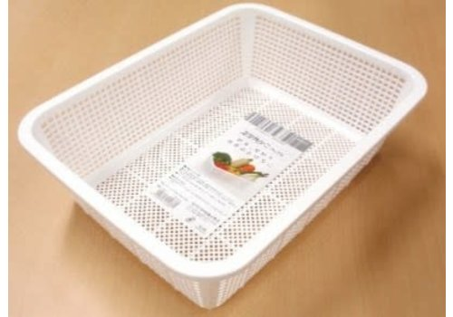 PLASTIC KITCHEN WASTE BUCKET SQUARE NO.30 W