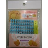 ?Cookie stamp alphabet & numbers