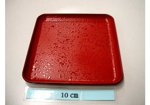square plate isime red