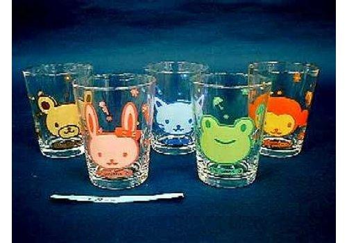Glass : Animal mini glass 1G