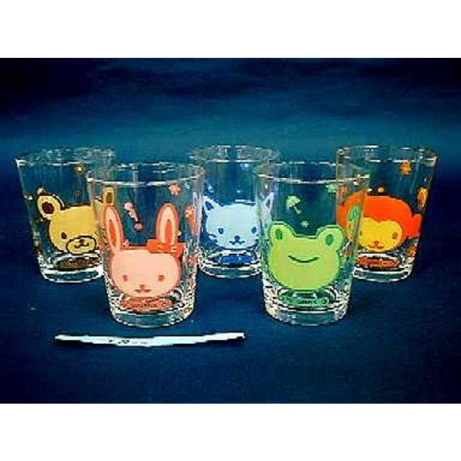 Glass : Animal mini glass 1G-1
