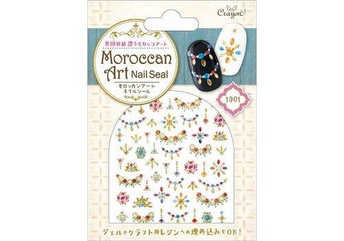 Moroccan nail seal bijou