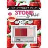 3-tone lip palette strawberry