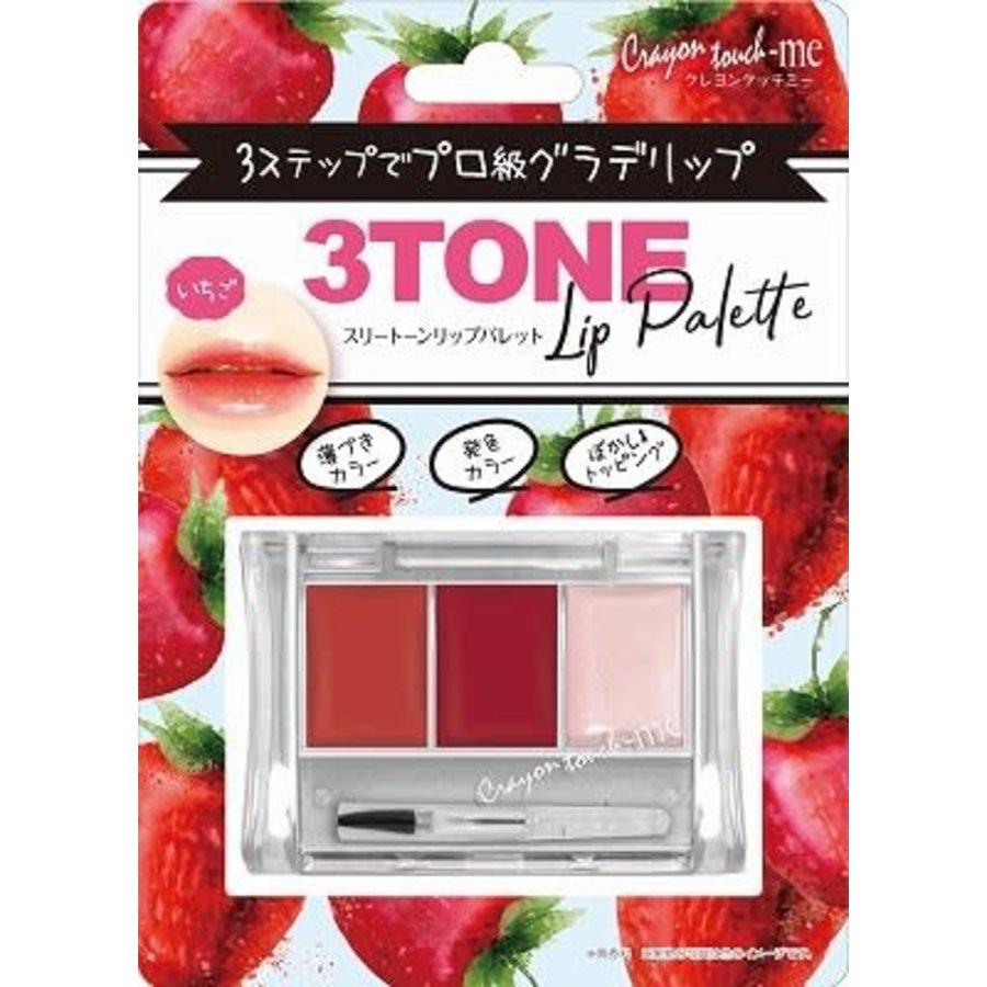 3-tone lip palette strawberry-1