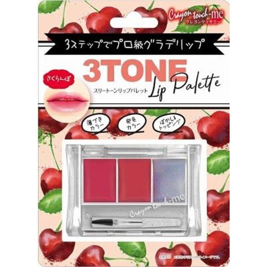 3-tone lip palette cherry-1
