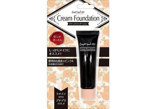 ?Cream foundation pink ochre