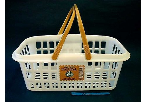 Carry basket handy is natural