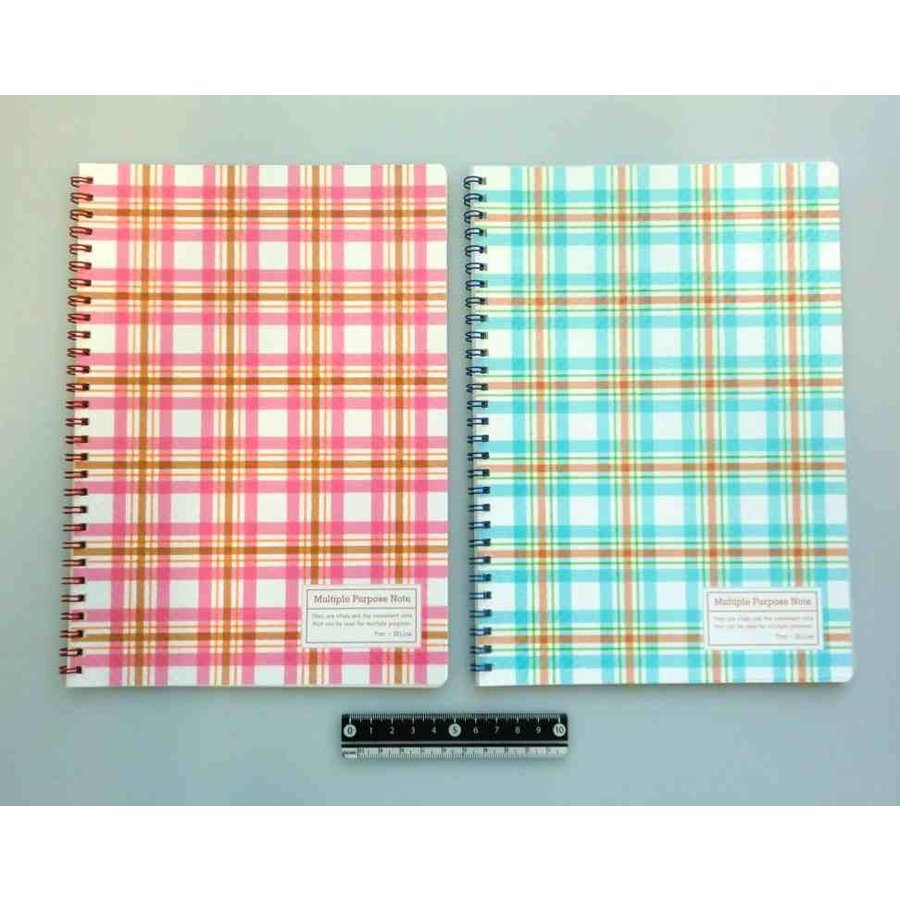 B5 Twin ring notebook 7mm pitch 40s-1