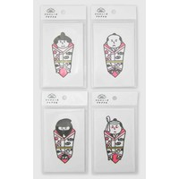Japanese S neon petit bags 5S