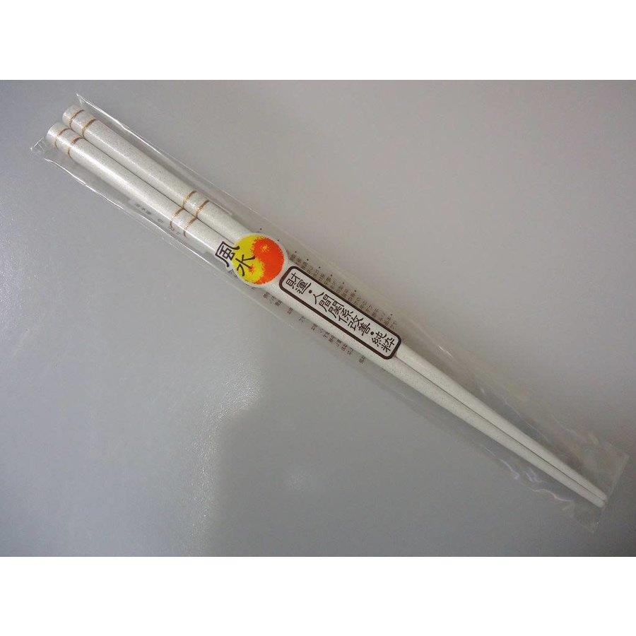Chopsticks fortune-telling white 22.5cm-1