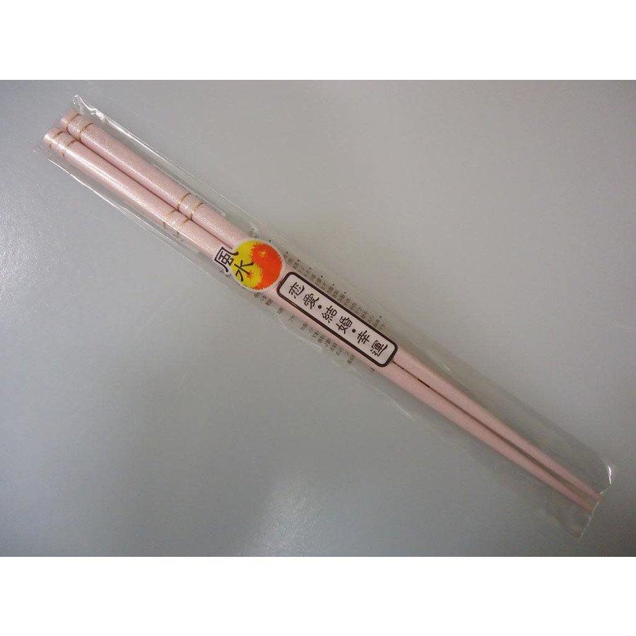 Chopsticks fortune-telling pink 22.5cm-1