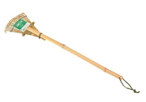 small bamboo rake