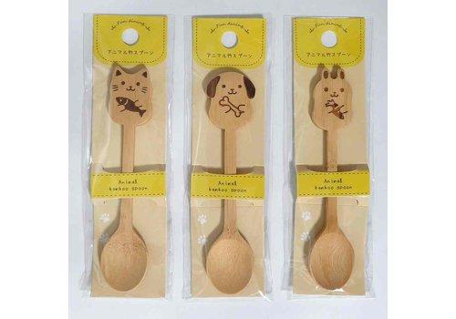 Animal bamboo spoon