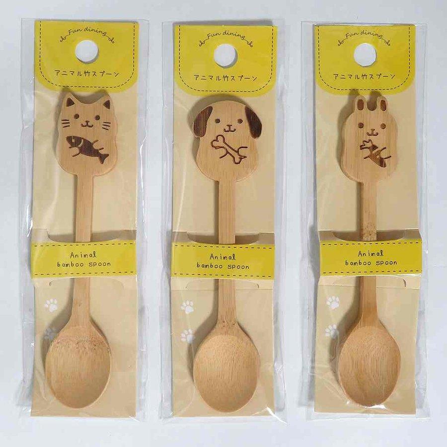 ?Animal bamboo spoon-1