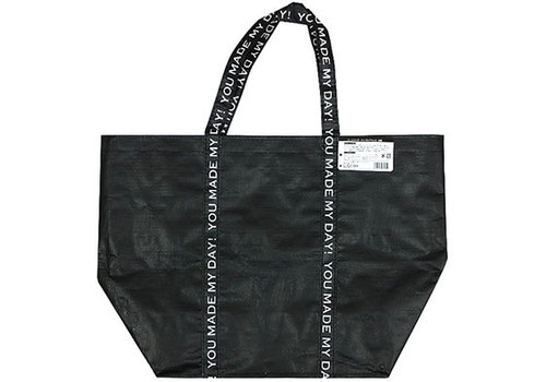 Tote bag simple black boat type