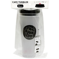 #Cafe tumbler happy time 600