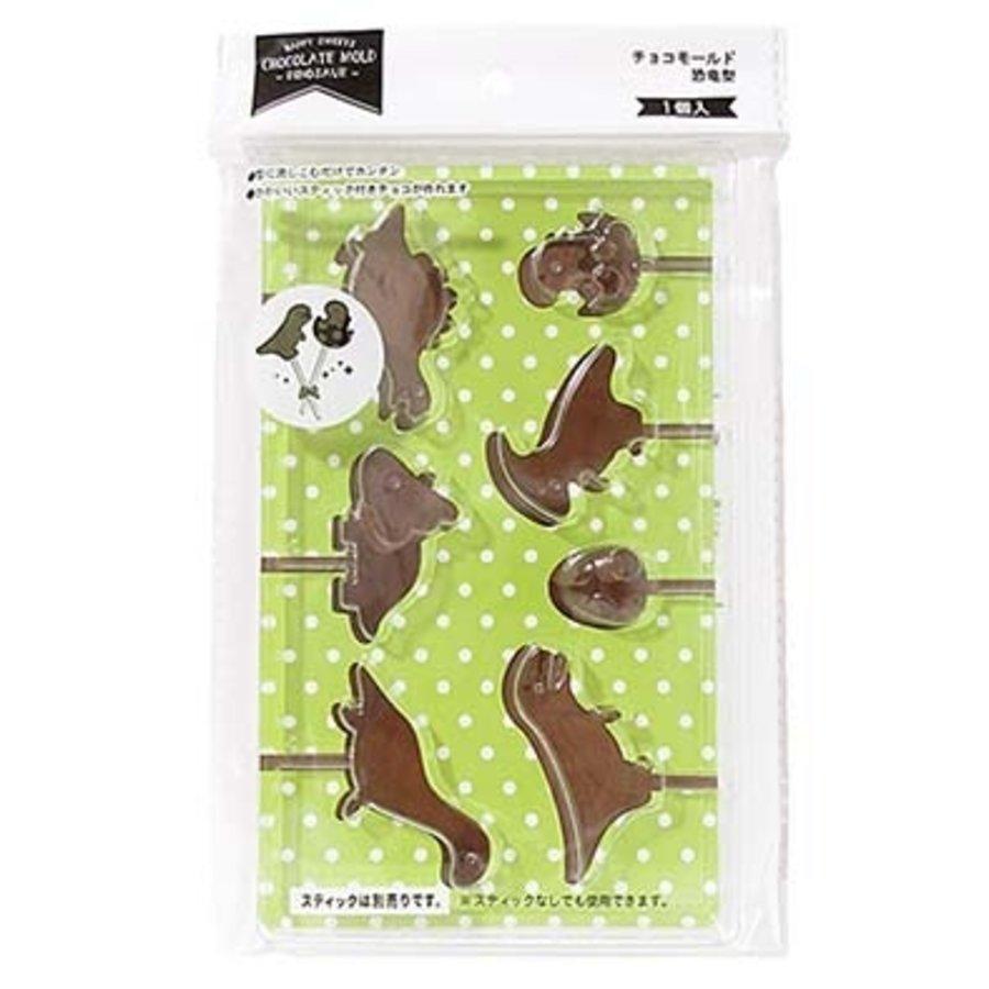 ?Chocolate mold dinosaur type-1