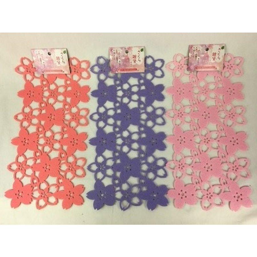 20 Felt mat (cherry blossoms in full bloom) S0-1