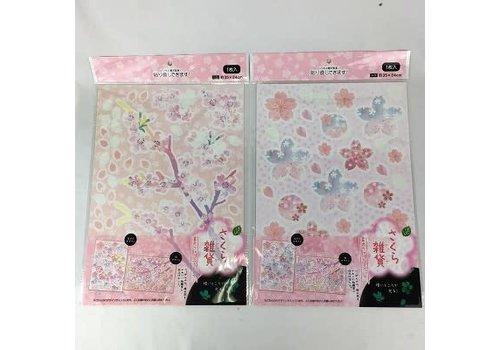 20 Phosphorescent wall stickers (cherry blossom) S0