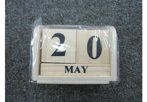 #Woodblock calendar