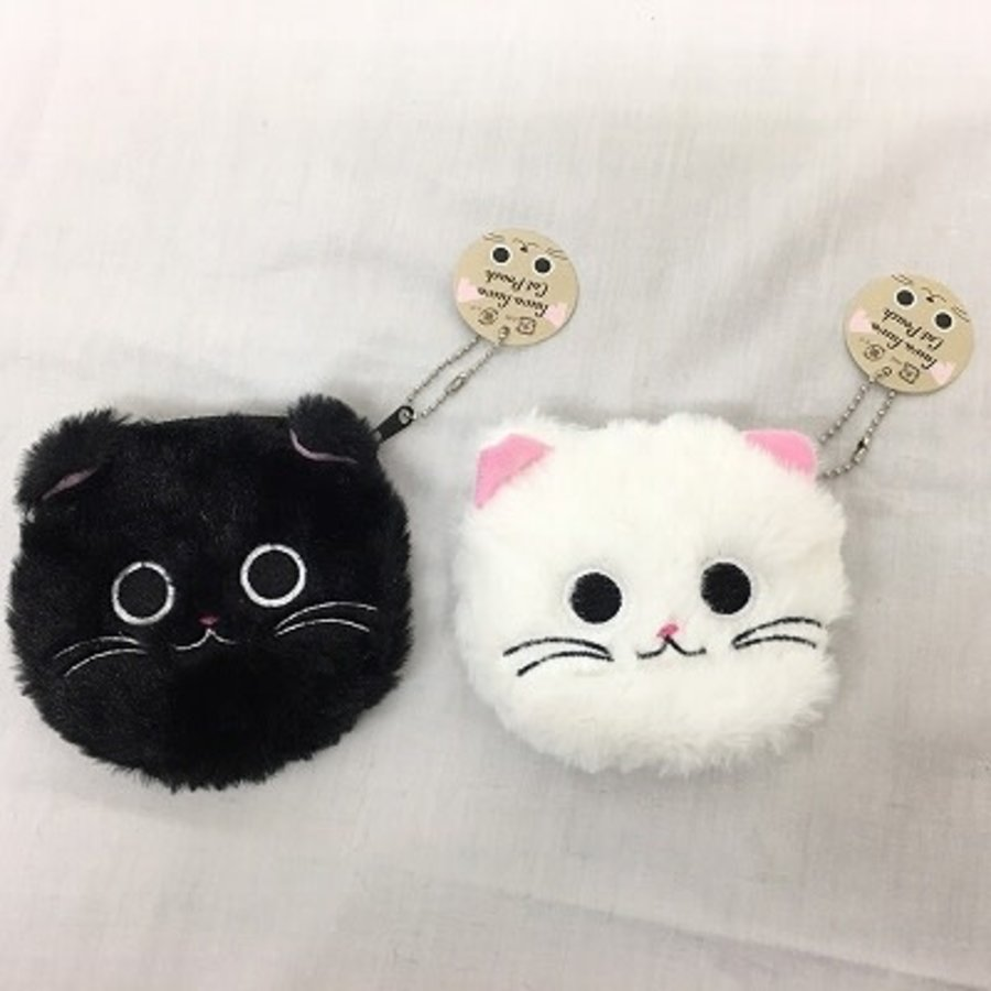Fluffy cat pouch-1