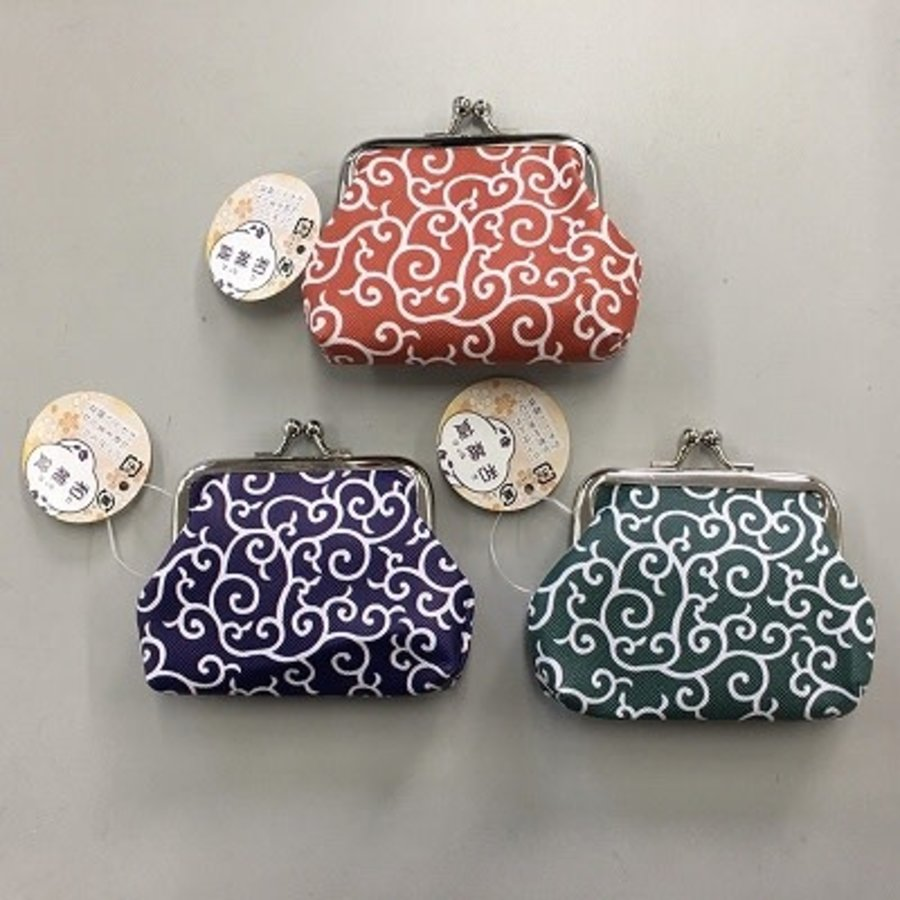 Japanese modern purse (foliage scrolls)-1