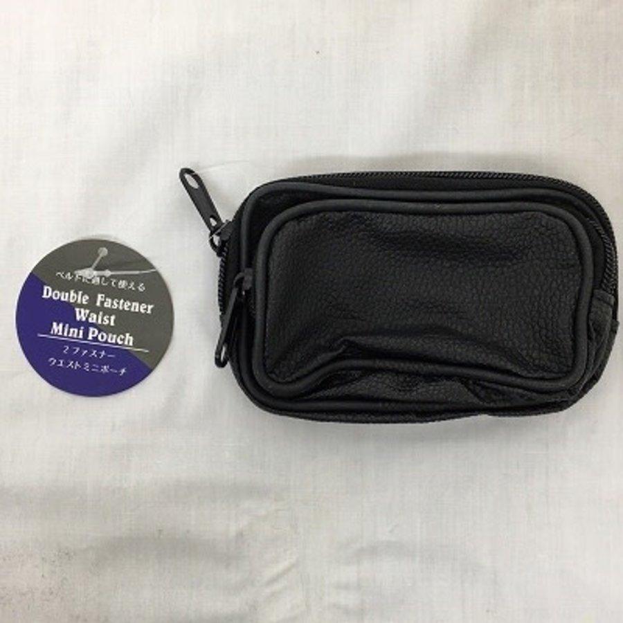 2 zipper waist mini pouch-1