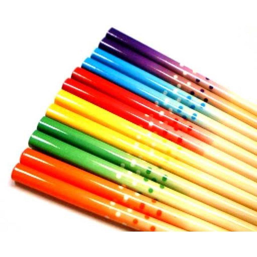 Bamboo Chopsticks Dot G.D 18.0cm-1