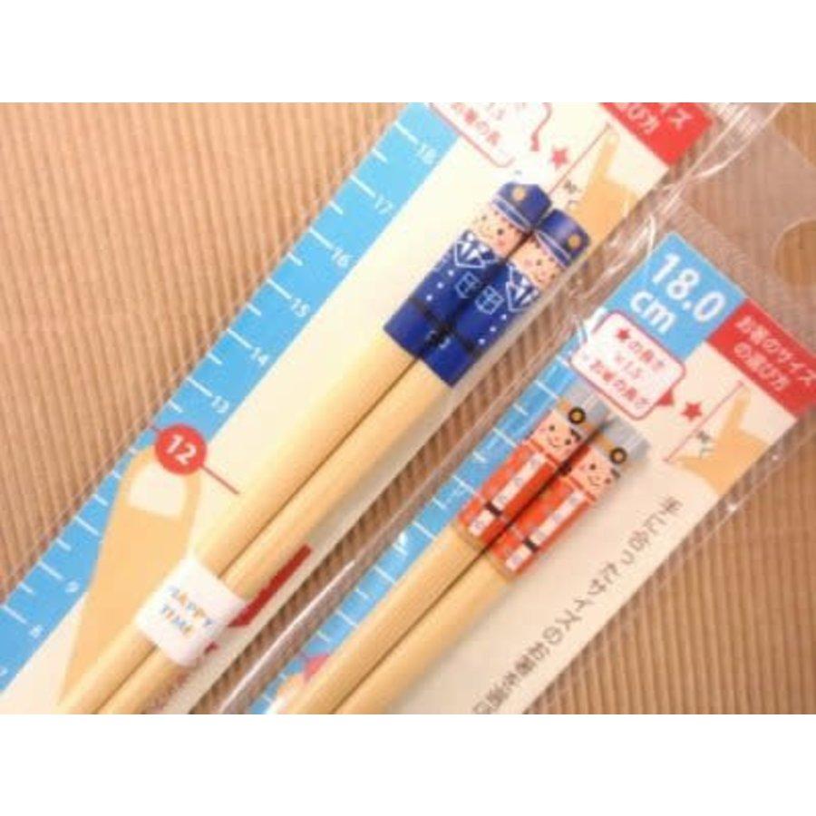 Bamboo Chopsticks Workers 18.0cm-1