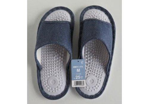 ♪Health sandal M denim style BL