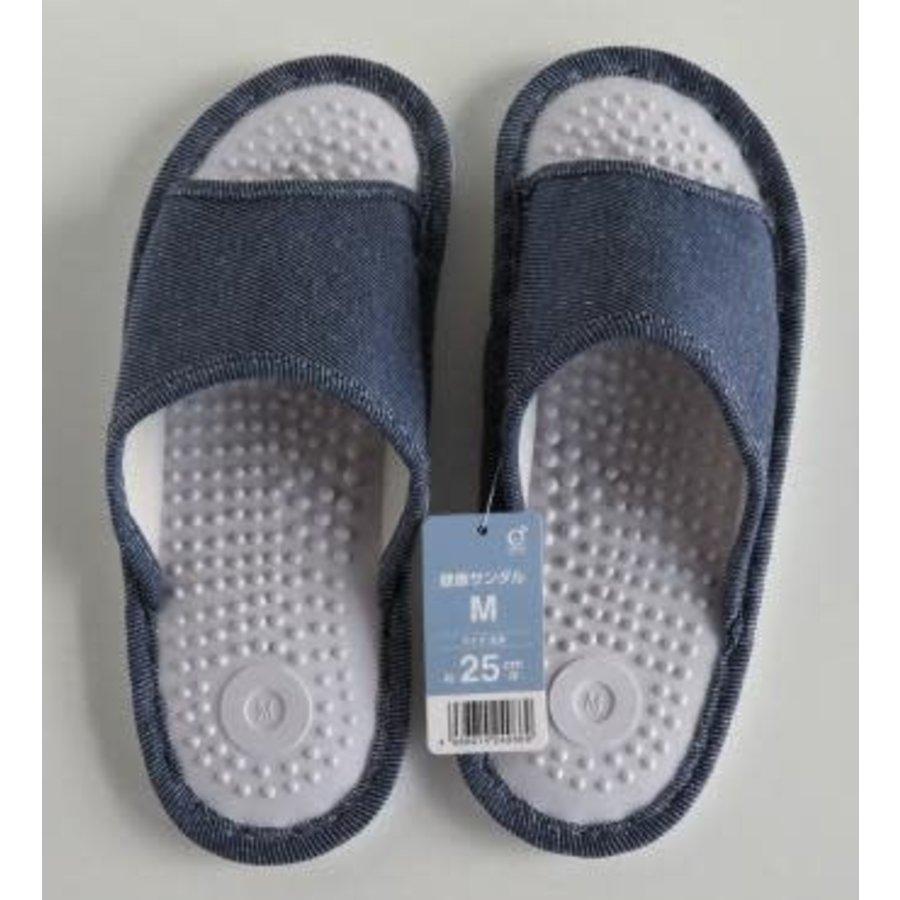 ♪Health sandal M denim style BL-1