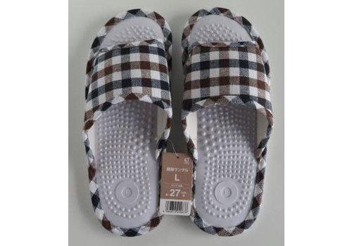 ♪Health sandal L check BR