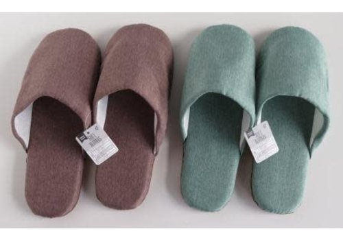 Soft slippers BR ・ GR