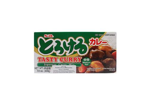 TOROKERU CURRY CHUKARA - Japanse currybasis - Medium heet
