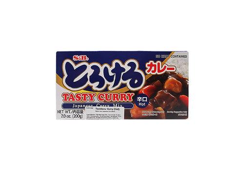 TOROKERU CURRY KARAKUCHI - Japanse currybasis 200 gr - Heet
