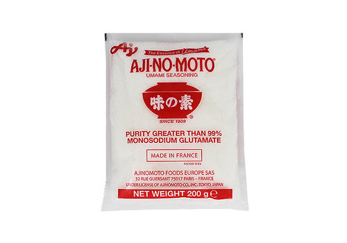 Monosodium Glutamate           48x200 Gr.   AJINOMOTO