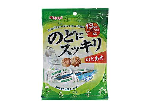 KASUGAI NODO NI SUKKIRI - Japanse keelsnoepjes 125 gr