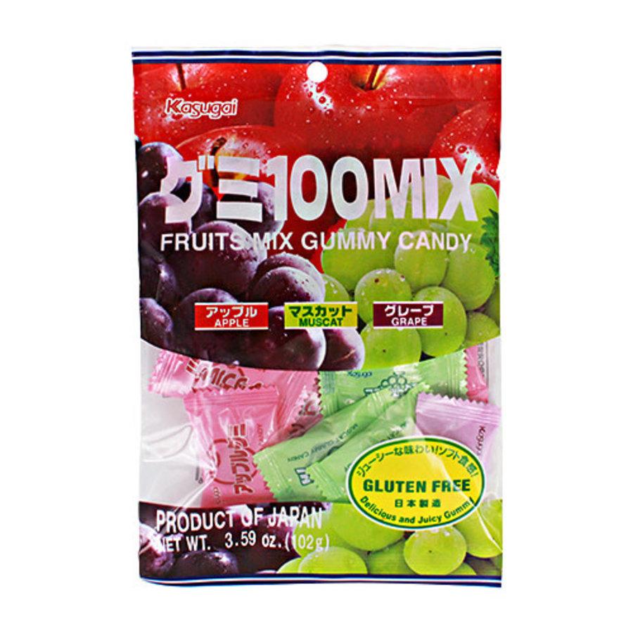 GUMI 100 MIX - Japanse gummie snoepjes met fruitsmaak-1