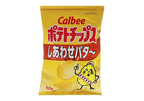 POTATO CHIPS SHIAWASE BUTTER - Chips met botersmaak 60 gr