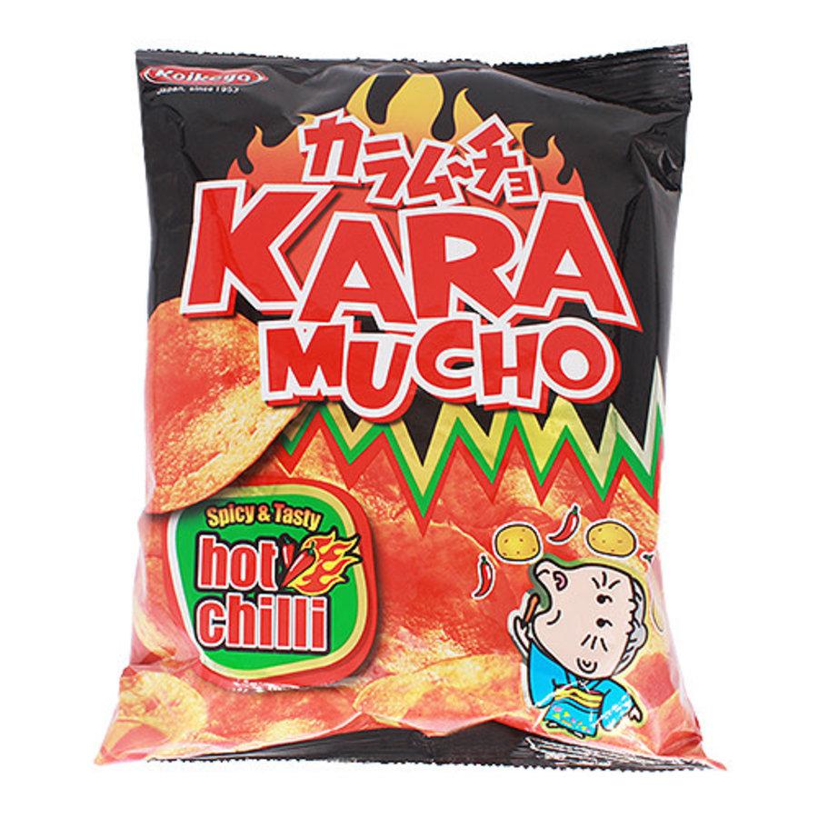 KOIKEYA KARAMUCHO FLAT - Hete chili chips-1