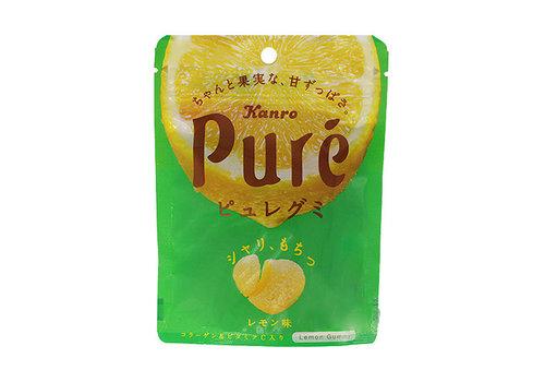 PURÉ GUMMY LEMON - Gummie snoepjes met citroensmaak 56 gr