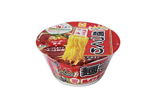 MARUCHAN MENZUKURI TORIGARA SHOYU RAMEN - Instant cup noedels kipbouillon en sojasaus smaak